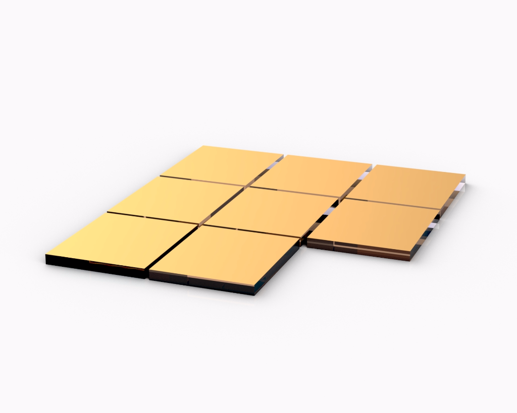 SPR sensor chips 50nm gold film