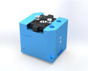 Surface Plasmon Resonance portable device with double channels C_CUBE